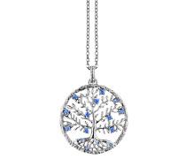 Crystal Tree, , 15 Zirkonia Blau, M JJ8810.1