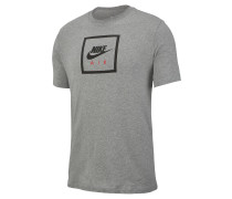 "T-Shirt ""Air 2"", Logo-Print"