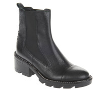 Chelsea Boots, Leder, Nieten, Blockabsatz