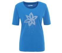 T-Shirt, uni, Strass, Nieten, Bio-Baumwolle
