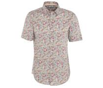 Freizeithemd, Modern Fit, Kurzarm, Kent-Kragen, Blumenmuster