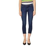 Jeans, Skinny Fit, Baumwolle, 7/8-Länge