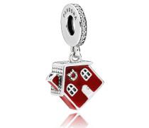 """Charm  """"Cosy Christmas House"""" mit Zirkonia 797517EN27"""