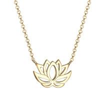 Halskette Lotusblume 925 Sterling Silber