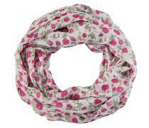 Loop-Schal, strukturiert, Blumenmuster