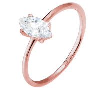 Ring Marquise Zirkonia Minimal 925 Sterling Silber