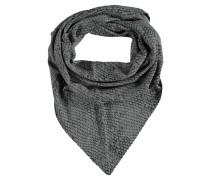 Halstuch, gemustert, dreieckige Form, Wolle, Cashmere-Anteil