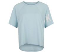 T-Shirt, Raglanärmel, Logo-Print, Oversized