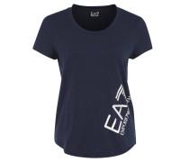 T-Shirt, Baumwollmischung, Metallic-Print