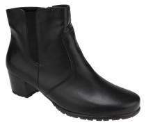 Ankle Boots, Stretcheinsatz, Leder