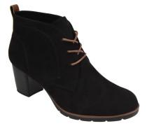 Ankle Boots, Schnürung, unifarben