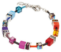 Geo Cube Armband Multicolor Rainbow 4245