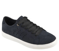 """Sneaker """"Perforated Essential"""", Leder, Cut-Outs, breites Schnürband"""