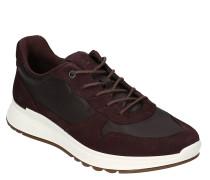 Sneaker, Leder, herausnehmbare Leder-Decksohle, Schnürung