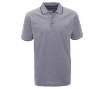 Poloshirt, meliert, Brusttasche