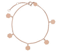 "Armband ""Essentielle Hexagon Charms"" roségold CLJ10018"
