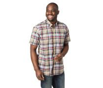 Hemd, Regular Fit, Baumwolle, Karo, Button-Down-Kragen