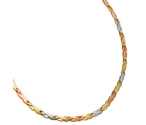 Collier Gold 375 Tricolor