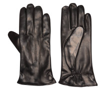 Handschuhe, echtes Leder, Ziernähte