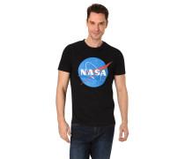 """T-Shirt """"NASA"""", Print, Rundhalsausschnitt"""