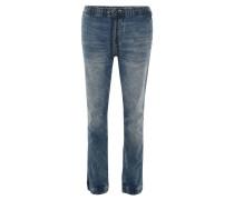 """Jeans """"Jogger Fit"""", Kordelzug, Waschung, Bündchen"""