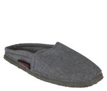 Pantoffeln, textiles Material, meliert