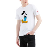 T-Shirt, Baumwolle, Mickey Mouse Print