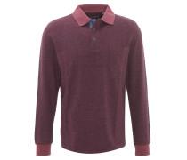 Pullover, zweifarbig, Polokragen, Baumwolle