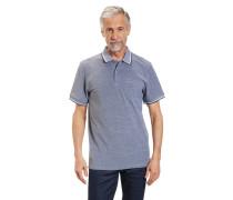 Poloshirt, meliert, Comfort Fit, Baumwolle