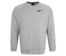 Sweatshirt, schnelltrocknend, Melange, Logo