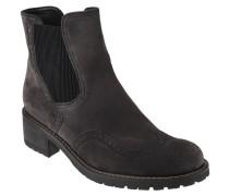 Chelsea Boots, Lyra-Lochung, elastischer Einsatz, Leder