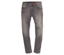 """Jeans """"Houston"""", Straight Fit, verwaschene Optik, elastisch"""