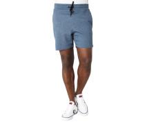 Shorts, Sweat, Gummibund, Tunnelzug, Taschen
