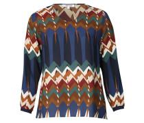Blusen-Shirt, Muster-Mix, Langarm