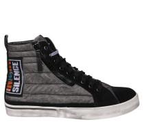 "Sneaker ""D-VELLOWS"", Wildlederbesatz"