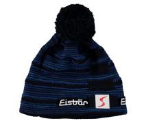 Mütze, Strick, Woll-Anteil, Logo-Patch