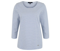 Shirt, Baumwoll-Anteil, gestreift, 3/4-Arm