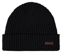 Mütze, Strick, Umschlagbund, Emblem