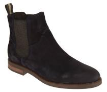 Chelsea Boots, Veloursleder, uni