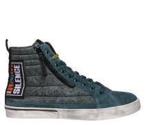 "Sneaker ""D-VELOWS"", Wildlederbesatz"