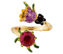 "Ring ""Flower Purple"", AHPV604/1, verstellbar"