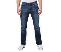 Jeans, Straight Fit, Waschung, Modern Leg