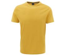 T-Shirt, Baumwolle, Rundhalsausschnitt, Logo-Stickerei