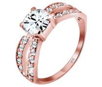 Ring 925 Sterling Silber Swarovski Kristalle