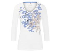 Shirt, 3/4-Arm, Shape Fit floraler Print, Rundhalsausschnitt
