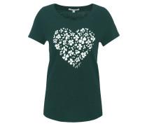 T-Shirt, Herz-Print