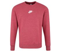 Sweatshirt, Logo-Stick, meliert