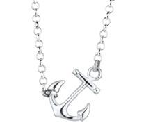 Halskette Anker Maritim Hanseatisch 925 Sterling