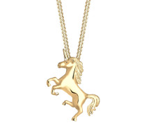 Halskette Einhorn Unicorn Magic 925 Sterling Silber