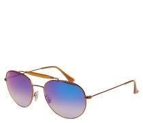 "Sonnenbrille ""RB 3540"", roségoldenes Gestell"